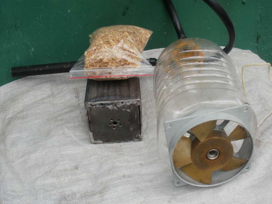 Компрессор из кухонного вентилятора