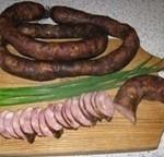 Домашня ковбаса гарячого копчення