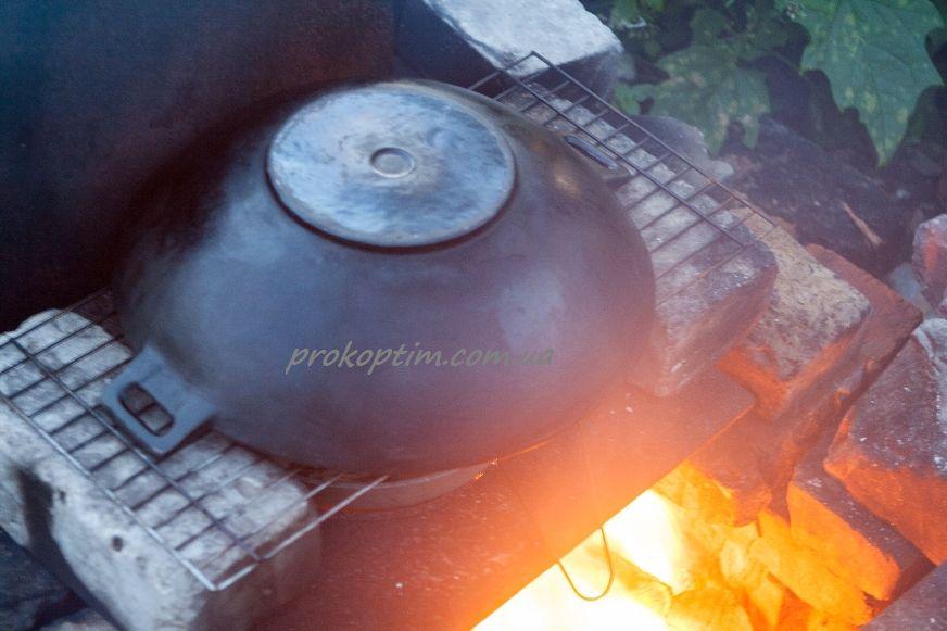 Копчение на огне