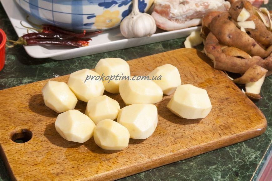 очистимо картоплю