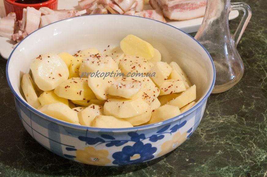 Картофель маринуем
