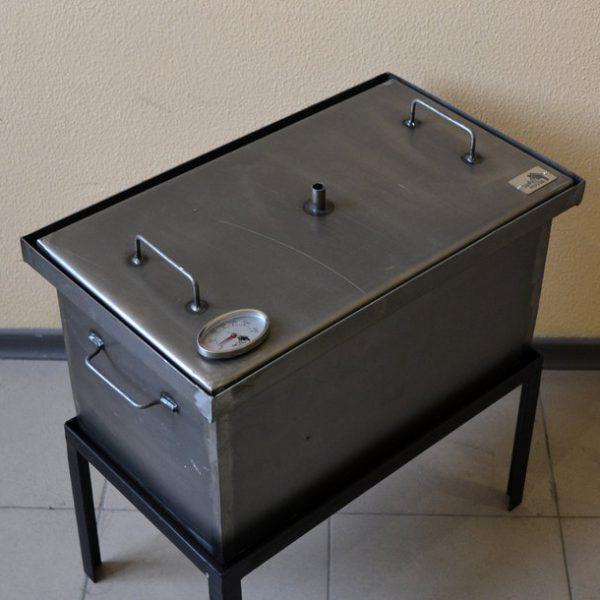 Купить коптильню горячего копчения с гидрозатвором