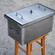 Коптильня 520х300х280 неокрашенная без термометра
