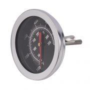 Термометр для коптильни с черным циферблатом